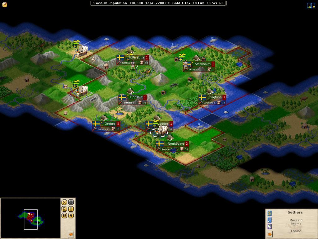 Vorschau Freeciv for Windows and Portable - Bild 2