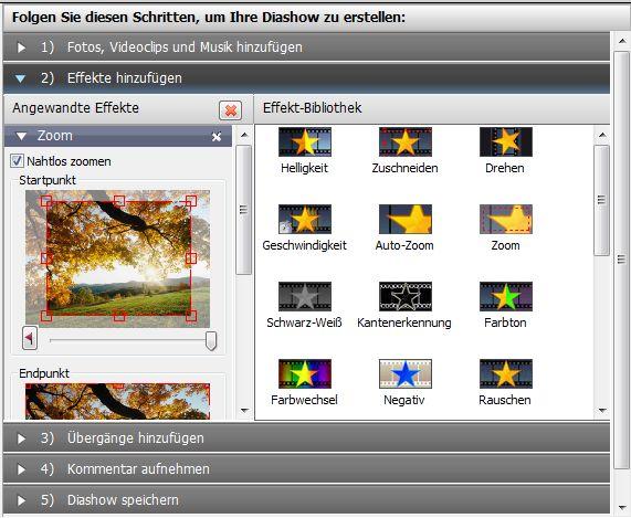 Vorschau PhotoStage Free Photo Slideshow Software - Bild 2