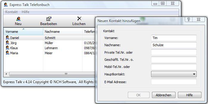 Vorschau Express Talk Kostenloses VoIP-Softphone - Bild 2