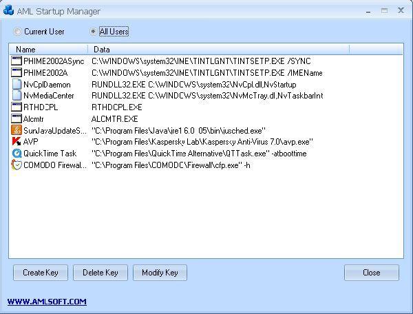 Vorschau AML Free Registry Cleaner - Bild 2