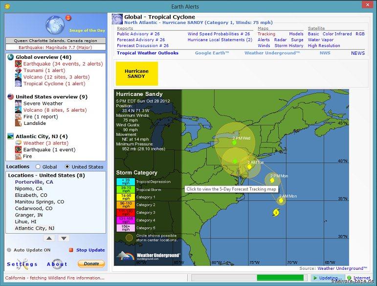Vorschau Earth Alerts - Bild 2