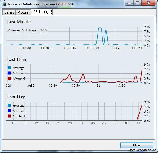 Vorschau System Explorer und Portable Version - Bild 2