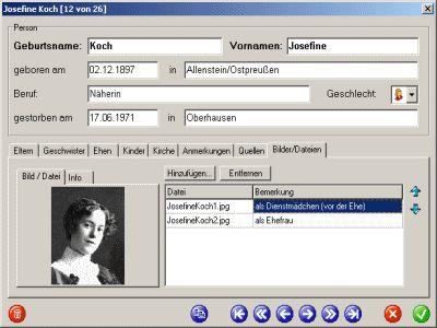 Vorschau Ahnenblatt und Portable - Bild 2