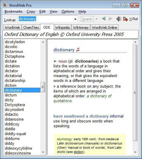 Vorschau WordWeb - Bild 2