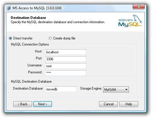Vorschau BullZip Access To MySQL - Bild 2