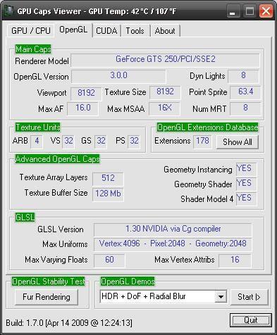 Vorschau GPU Caps Viewer - Bild 2