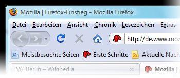 Vorschau Mozilla Firefox Deutsch - Bild 2