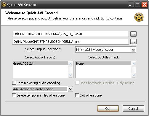 Vorschau Quick AVI Creator - Bild 2