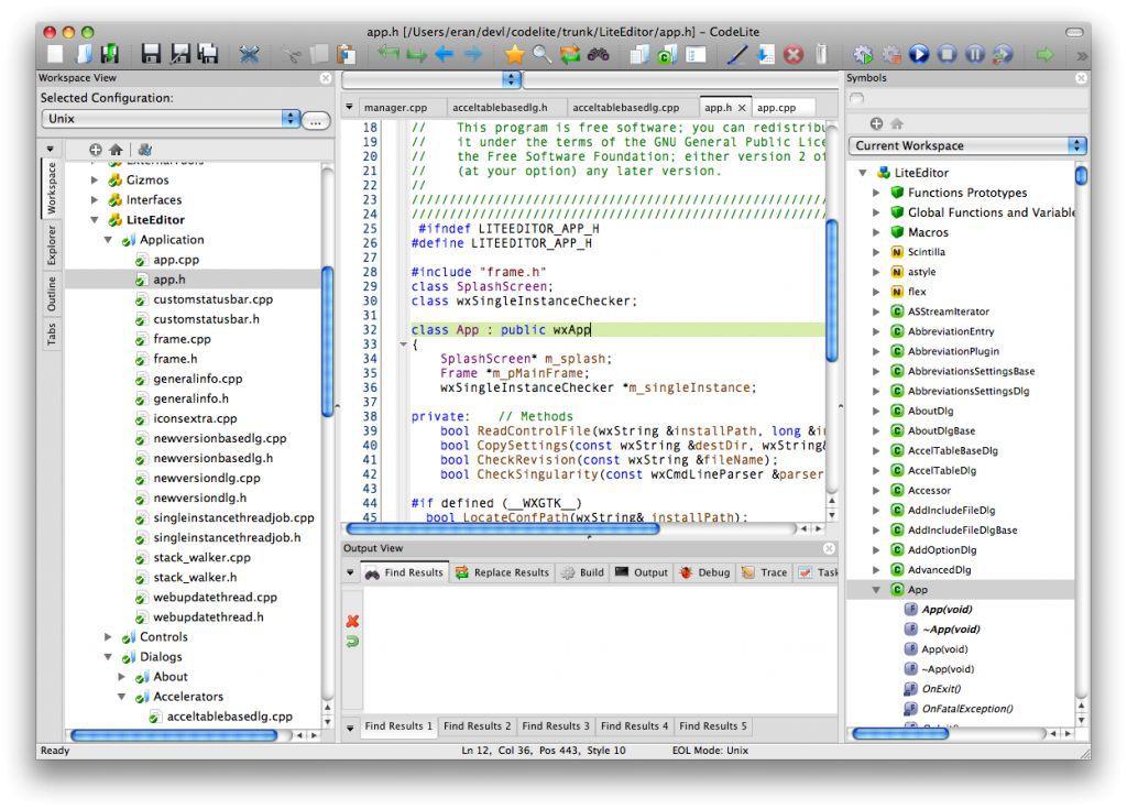 Vorschau CodeLite - Bild 2
