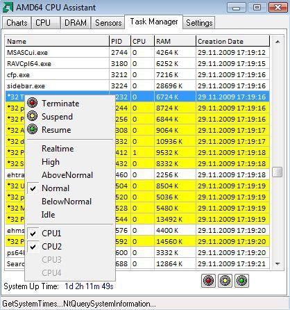 Vorschau AMD64 CPU Assistant - Bild 2