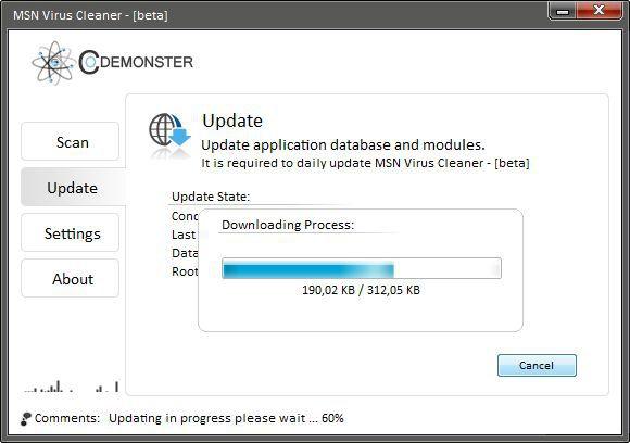 Vorschau MSN Virus Cleaner - Bild 2