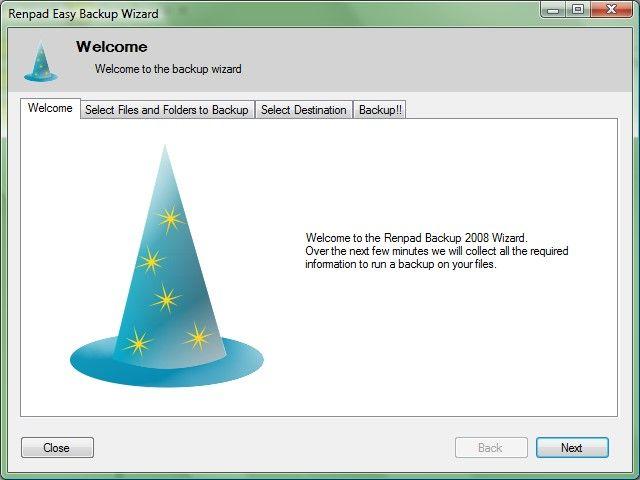 Vorschau Renpad Backup 2008 - Bild 2