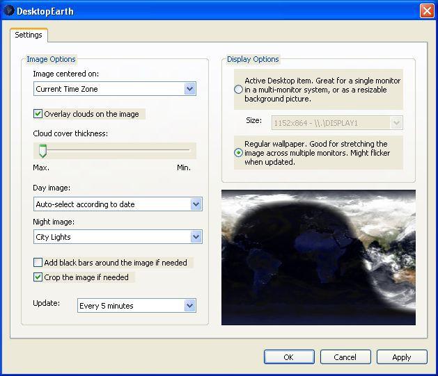 Vorschau Desktop Earth - Bild 2