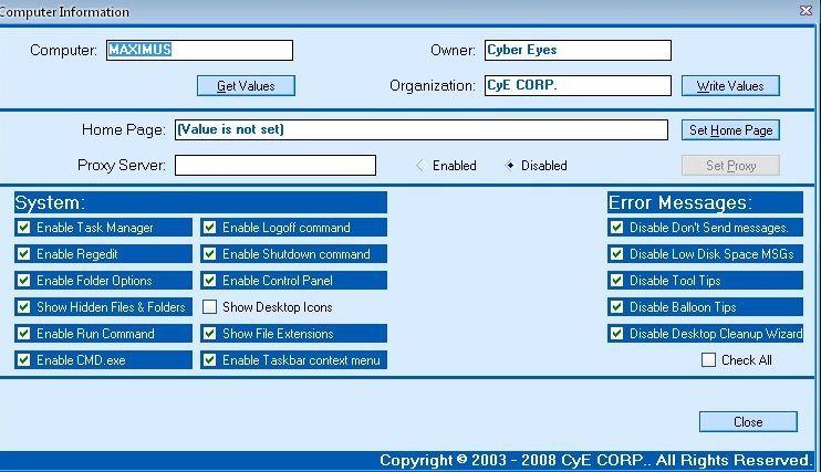 Vorschau CyE Registry Writer - Bild 2