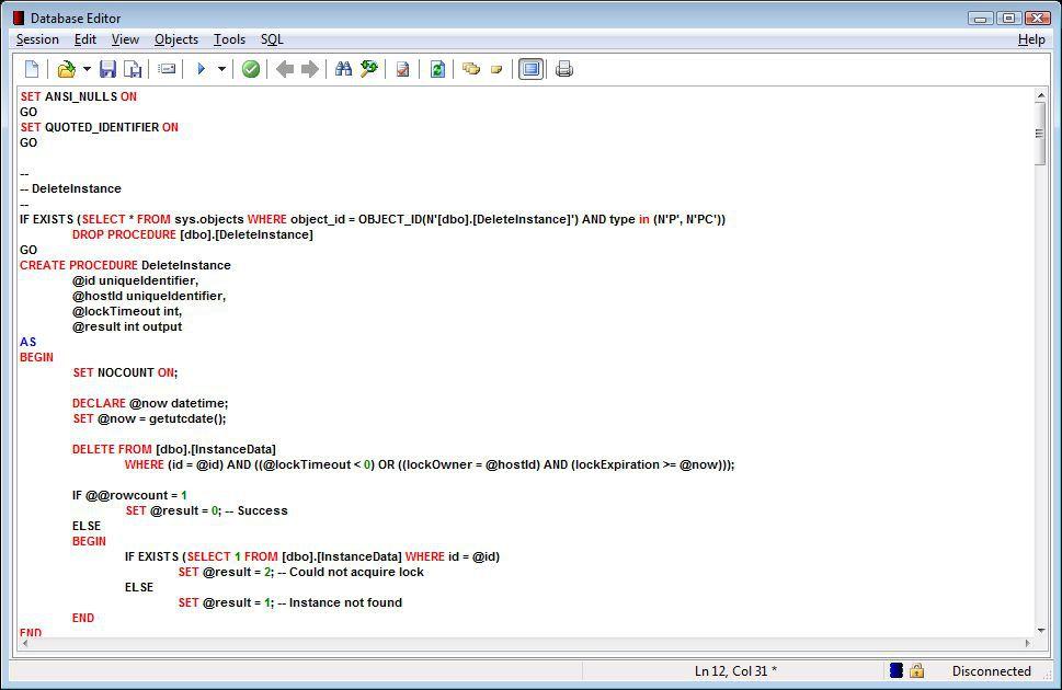 Vorschau Database Editor - Bild 2