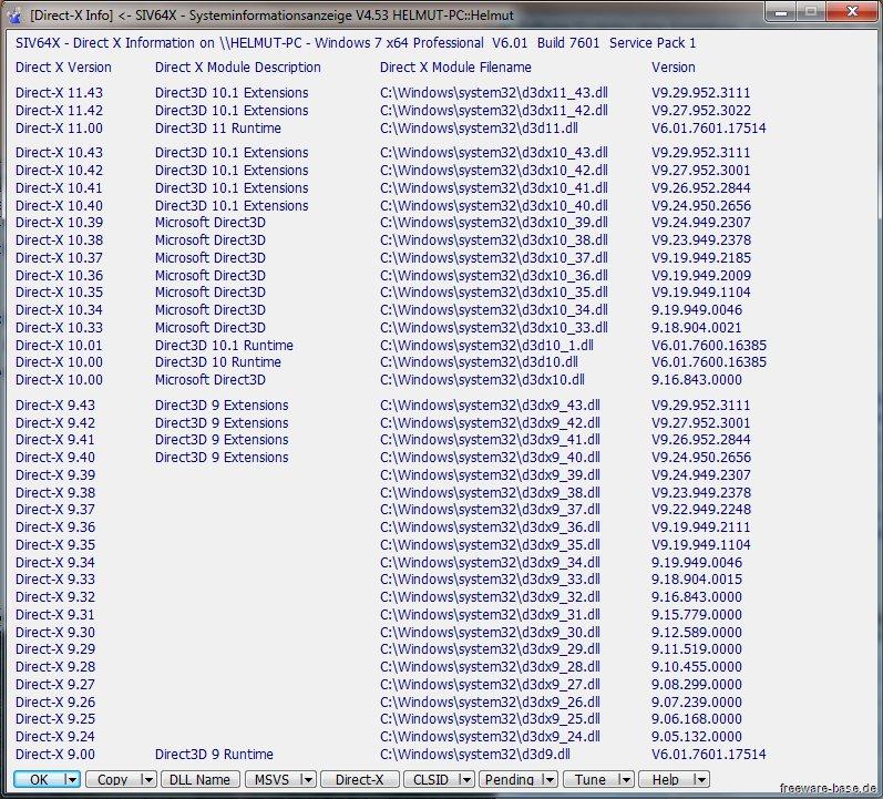 Vorschau SIV - System Information Viewer - Bild 2