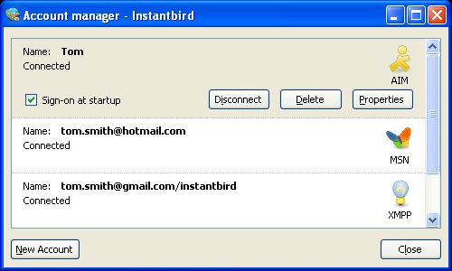 Vorschau Instantbird for Windows and Portable - Bild 2