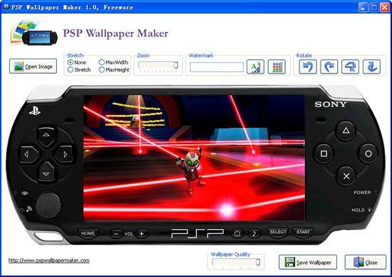 Vorschau PSP Wallpaper Maker - Bild 2