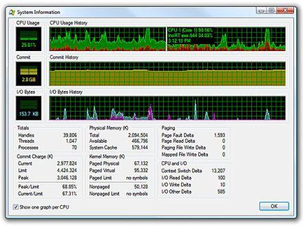 Vorschau Microsoft Process Explorer - Bild 2