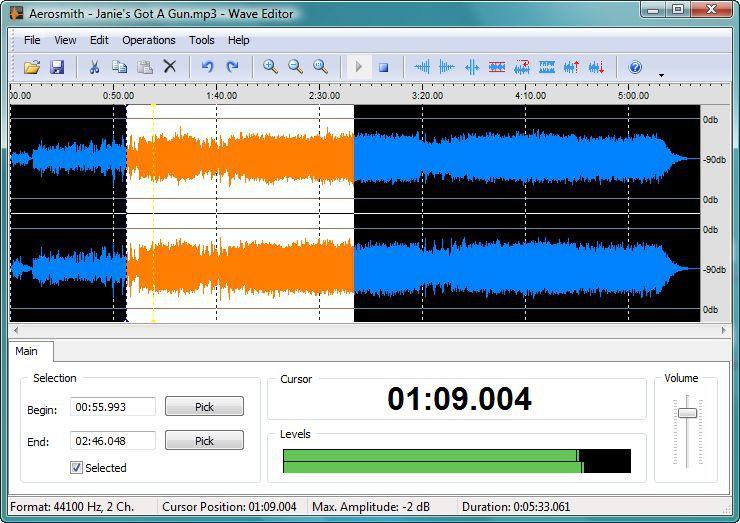Vorschau Wave Editor - Bild 2