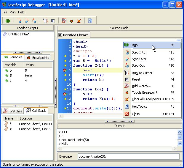 Vorschau Free JavaScript Editor - Bild 2