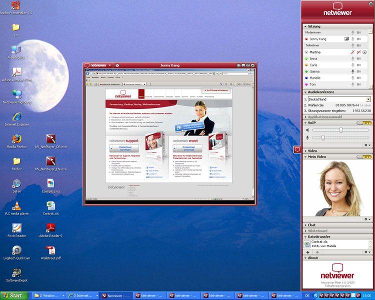 Vorschau Netviewer Meet Free Version - Bild 2