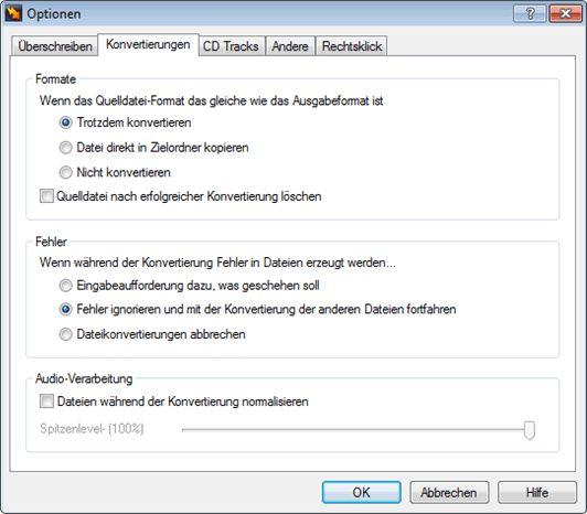 Vorschau Switch Kostenloser MP3-Konverter - Bild 2