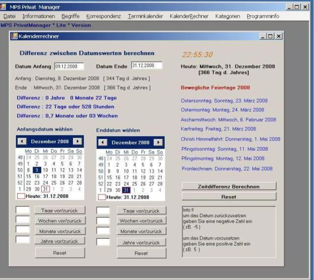 Vorschau MPS Terminkalender - Bild 2