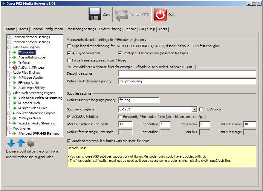 Vorschau PS3 Media Server - Bild 2