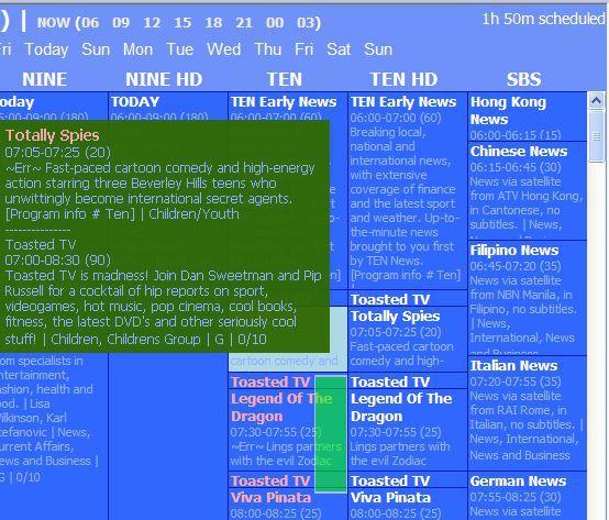 Vorschau DV Scheduler - Bild 2