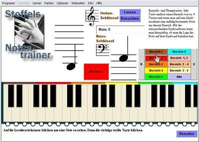 Vorschau Keyboard Notentrainer - Bild 2