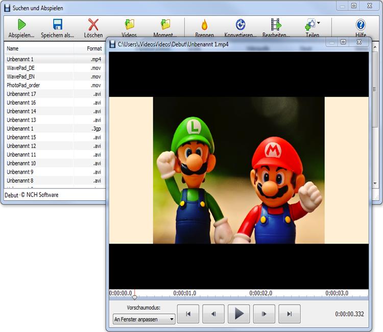 Vorschau Debut Video-Aufnahme-Programm - Bild 2