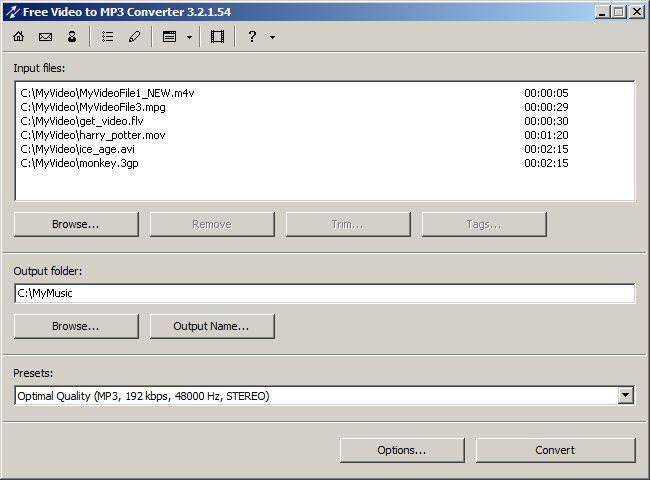 Vorschau Free Video to MP3 Converter - Bild 2