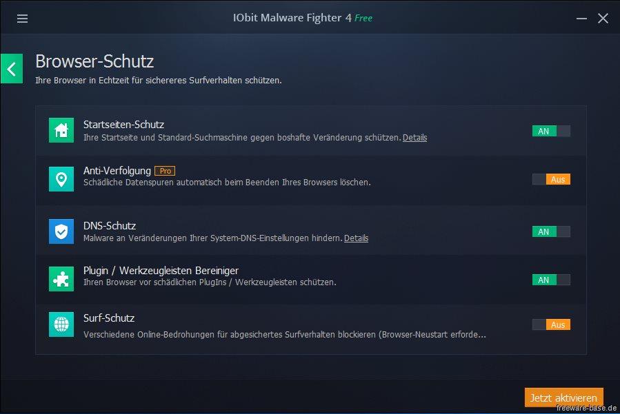 Vorschau IObit Malware Fighter - Bild 2