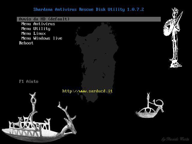 Vorschau Shardana Antivirus Rescue Disk Utility - Bild 2