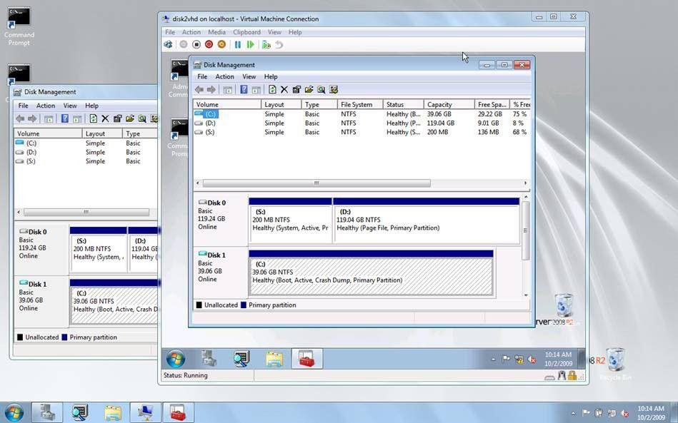 Vorschau Sysinternals Disk2vhd - Bild 2