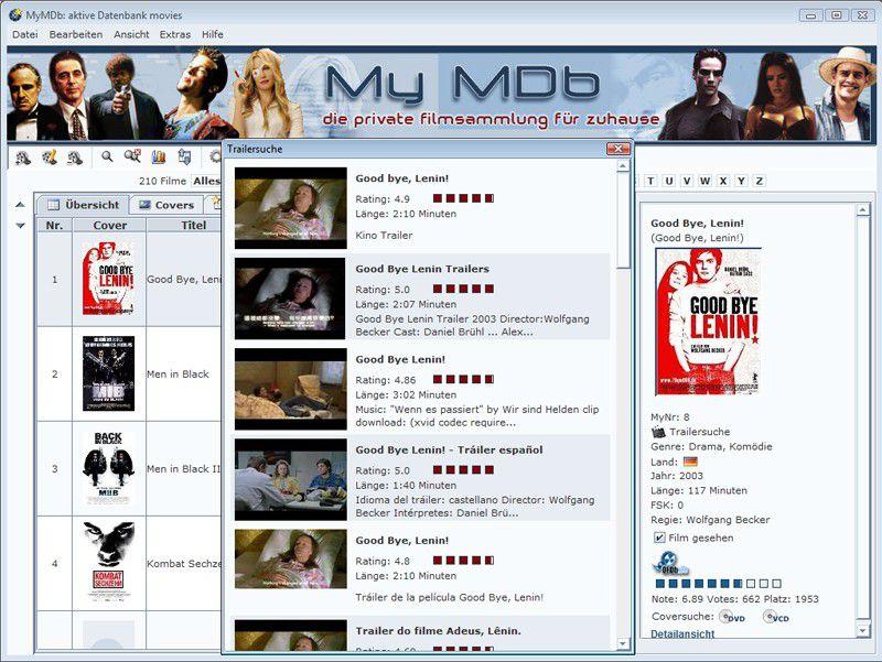 Vorschau MyMDb - Bild 2