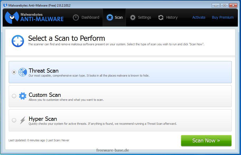 Vorschau Malwarebytes Anti-Malware - Bild 2