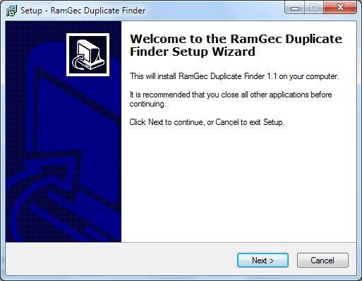 Vorschau RamGec Duplicate Finder - Bild 2