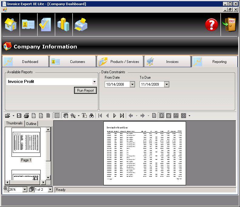 Vorschau Invoice Expert XE - Bild 2