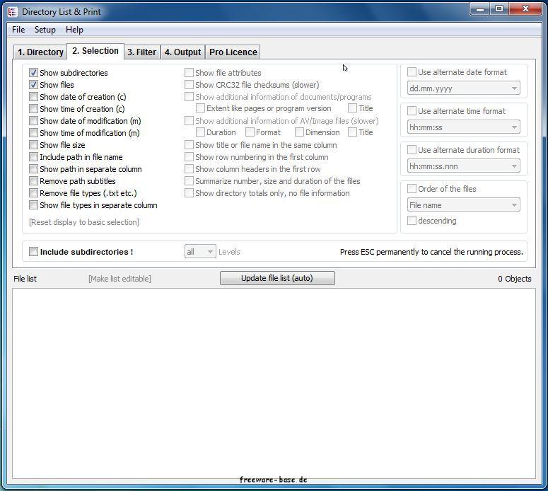 Vorschau Directory List and Print - Bild 2