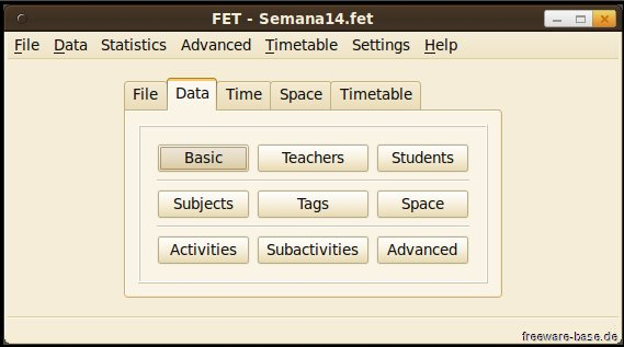 Vorschau FET - Free Timetabling - Bild 2