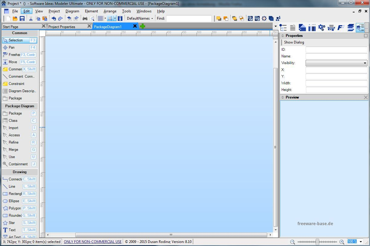 Vorschau Software Ideas Modeler and Portable - Bild 2
