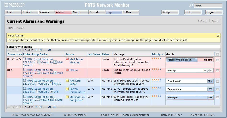 Vorschau PRTG Network Monitor - Bild 2