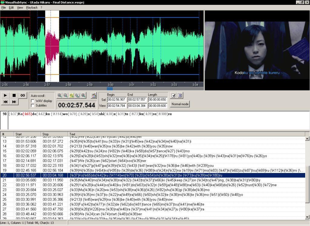 Vorschau VisualSubSync - Bild 2
