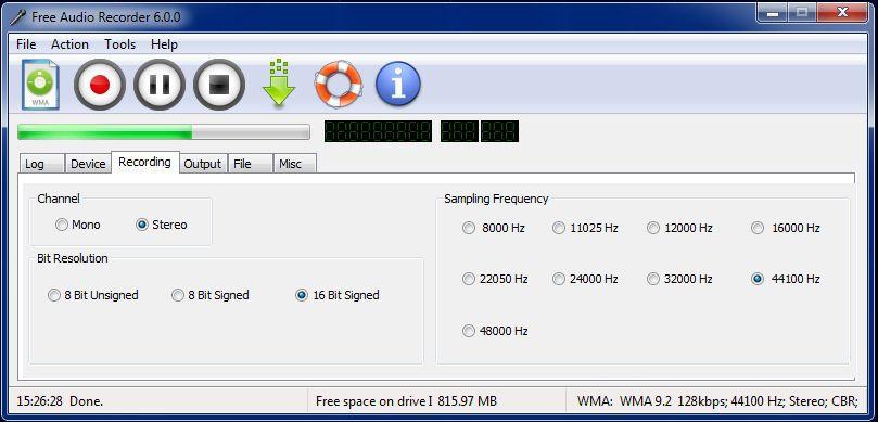 Vorschau Free Audio Recorder - Bild 2