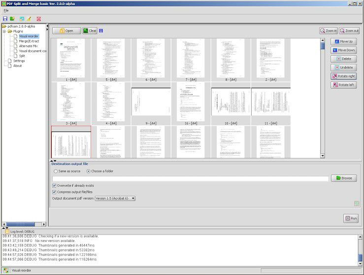 Vorschau PDFsam - ehemals PDF Split and Merge - Bild 2