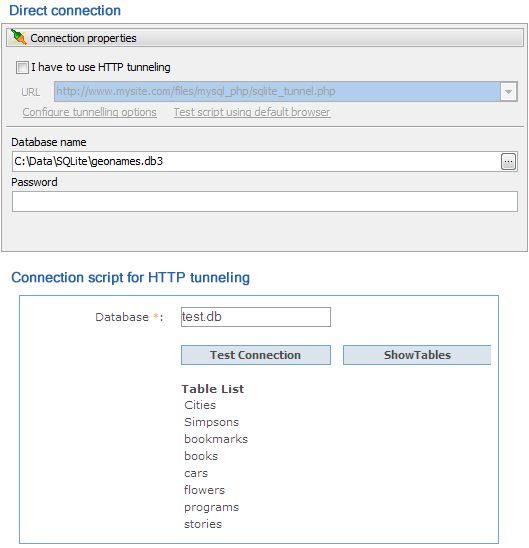 Vorschau SQLite PHP Generator - Bild 2