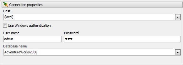 Vorschau MS SQL PHP Generator - Bild 2