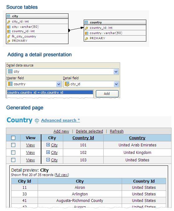 Vorschau MySQL PHP Generator - Bild 2